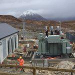 Wind farm substation